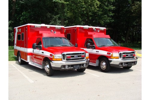 1999/2000 AMBULANCE FORD F-350