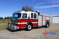 AM 17301 1997 PIERCE FIRE TRUCK RESCUE PUMBER 1500/500