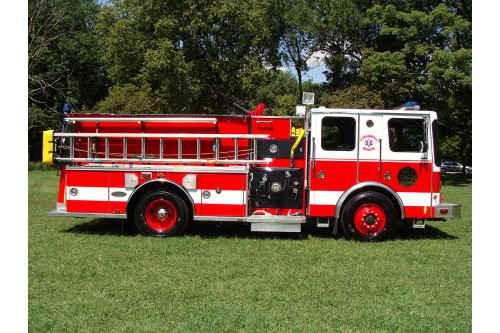 1997 HME FIRE TRUCK 1500/750