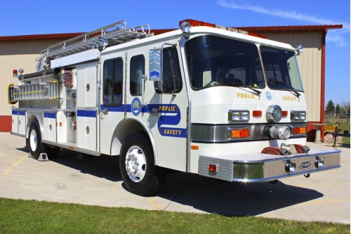 1988 EMERGENCY - ONE 50 FOOT QUINT FIRE TRUCK 1500/500