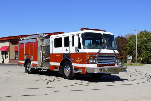 1999 AMERICAN LaFRANCE 1500/750 RED
