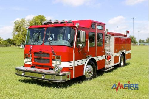 AM-16302 2006 E-ONE TYPHOON FIRE TRUCK RESCUE PUMPER 1250/500