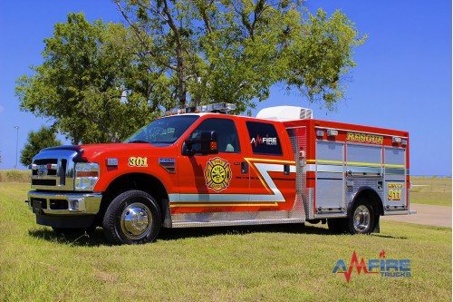 2008 RESCUE TRUCK FORD F350 4x6 301-1
