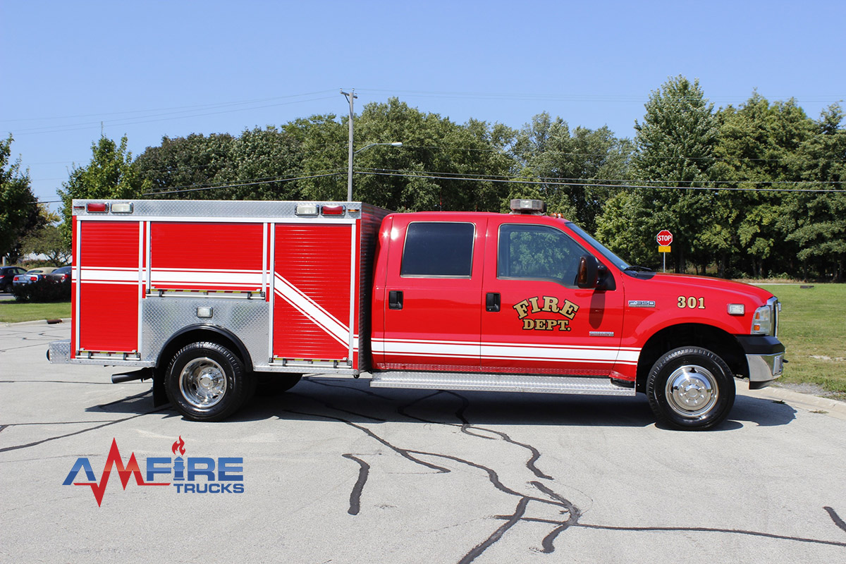 2006 Rescue Truck    Ford F
