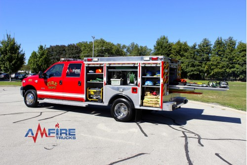2006 RESCUE TRUCK / FORD F-350 4X6