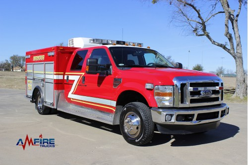 2009 RESCUE TRUCK  FORD F-350 4X6
