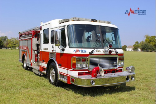 AM-16301 2006 AMERICAN LA FRANCE FIRE TRUCK RESCUE PUMPER 1500/500