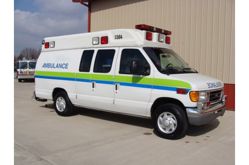2006 AMBULANCE FORD # 1