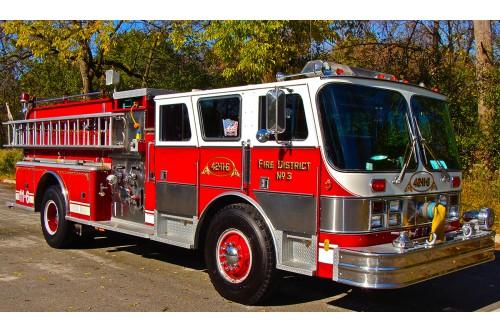 1987 HAHN FIRE TRUCK 1250/1000