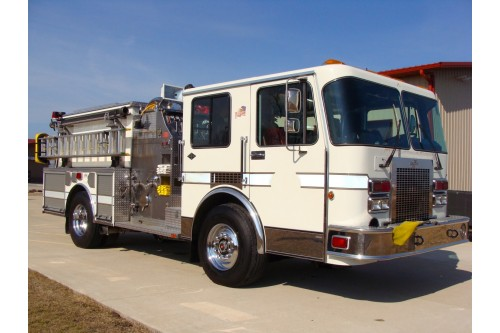 1992 SPARTAN FIRE TRUCK 1500/750