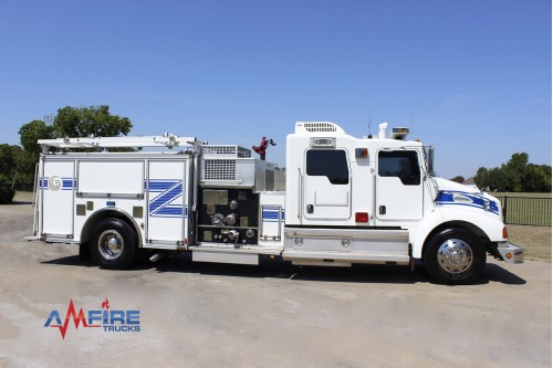 AM 20303 2003 Kenworth T300 Fire Pumper Truck